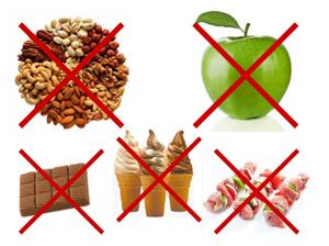 Еда, которую нельзя есть после установки брекетов
